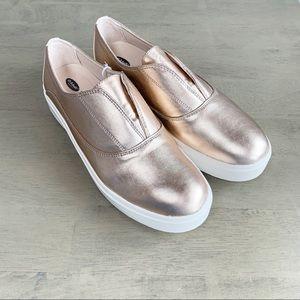 Shoes - NWT Dr. Scholls   Brey Rosegold Slip On Sneaker
